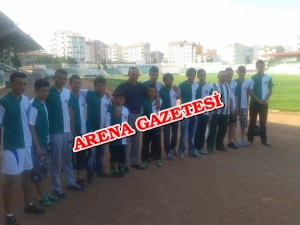 Hacı Turan'dan Kırşehirspor taraftar grubuna forma