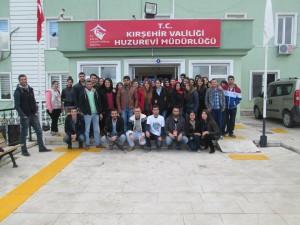 Ahi Evran Gezi Otobüsü Ekibi yaşlılarımızı unutmadı!
