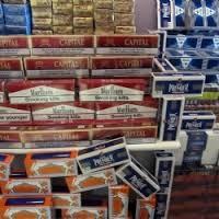 Kırşehir'de  Gümrük Kaçağı Sigara Ele Geçirildi