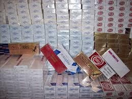 Türkiye'de Tek Seferde Yakalanan En Büyük Kaçak Sigara