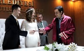 14 Şubat Sevgililer Gününde Kırşehir'de 11 Nikah Kıyıldı
