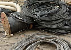 Kırşehir'de kablo hırsızlığı iddiası