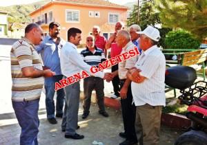 Kaman Kaymakamı Cengiz, köyleri ziyaret etti