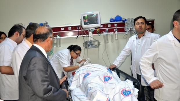 AK Parti'li Milletvekili Güvenç, kazada yaralandı