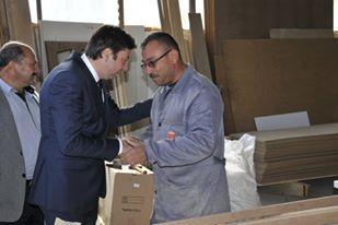 Mustafa Kendirli Vatandaş ve Esnafları ziyaret ediyor.