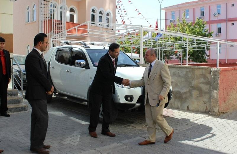 Vali Özdemir Çakacak'dan Ramazan Baykara'ya ziyaret