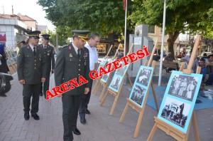 Garnizon Komutanlığı'nca fotoğraf sergisi açıldı