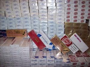 Bin 300 paket gümrük kaçağı sigara ele geçirildi