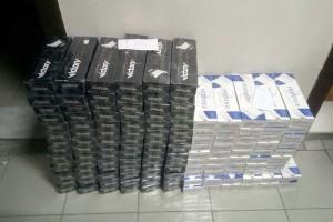 6 bin 460 paket gümrük kaçağı sigara ele geçirildi