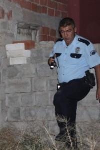 Kırşehir'de markette silahlı soygun